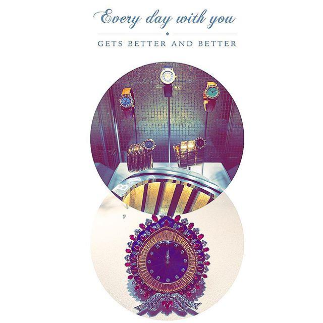 文字盤とベルトの色がとってもタイプだった時計達。️♡#bulgari130 #BVLGARI#watch#ellegirl