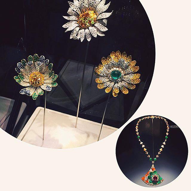 1969年の『ディジーブローチ』着物をモチーフに作られたネックレス。#BVLGARI#bulgari130 #ellegirl #fashion