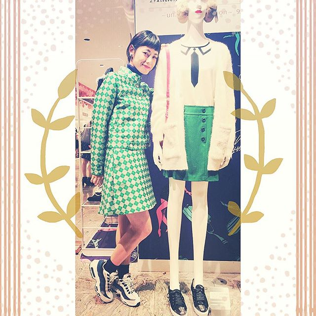 mademoiselle TARA × fafi.@Isetan shinjuku の期間限定shop.9/23 (水)〜9/28 (月) まで!! 限定アイテムなどの詳細は#ellegirl #blog を見てね️ http://ellegirl.jp/blogs/izumi/2015/09/mademoiselle-tara-x-fafi-isetan-shinjuku/#mademoiselleTARA#fafi#mtbyellegirl #m_tara