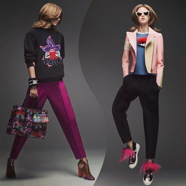 好きすぎてたまらない!♡♡♡ #fendi#fw#2015#fashion#look