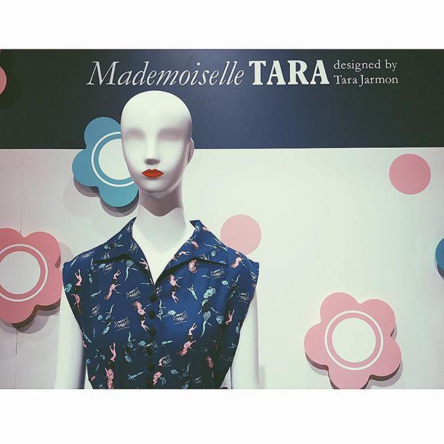 今日からSTARTした、マドモアゼル タラの期間限定shopへ!♡ #新宿伊勢丹#mademoiselletara#m_tara#ellegirl