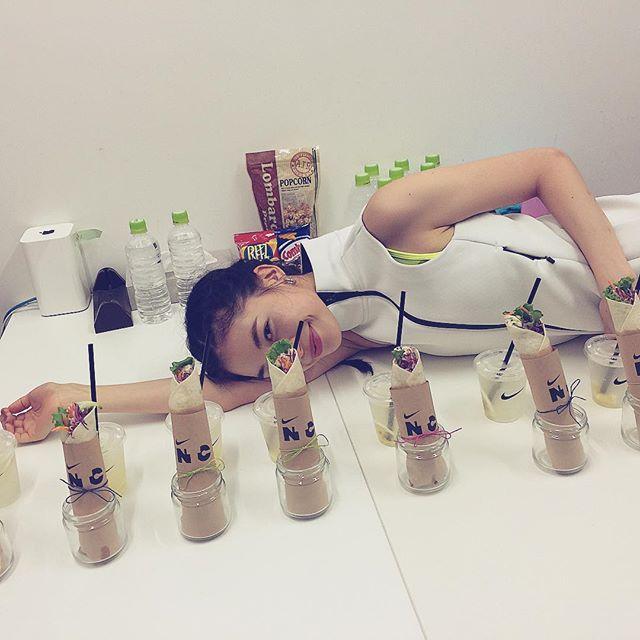 天使参上😎あやな氏@catserval  #nike#JUSTDOIT #NTCTOKYO #宮本彩菜 #model