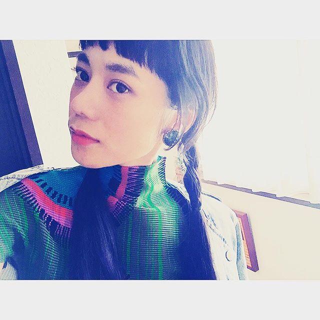 今日はお下げにしようかと思ったけど、辞めました #fashion#hair#me#izumi