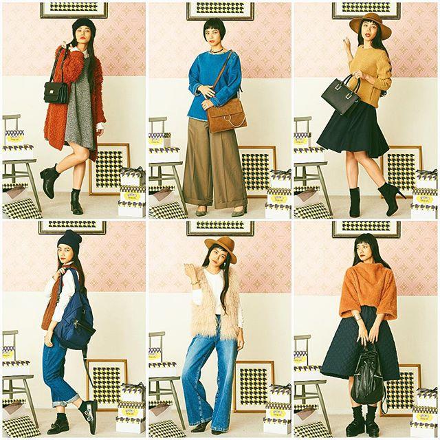オーディションを終えて、shopをプラプラ見てきた〜可愛いitemいろいろ発見した〜 #LUMINE#shinjuku#fashion#coordinate#fall#winter