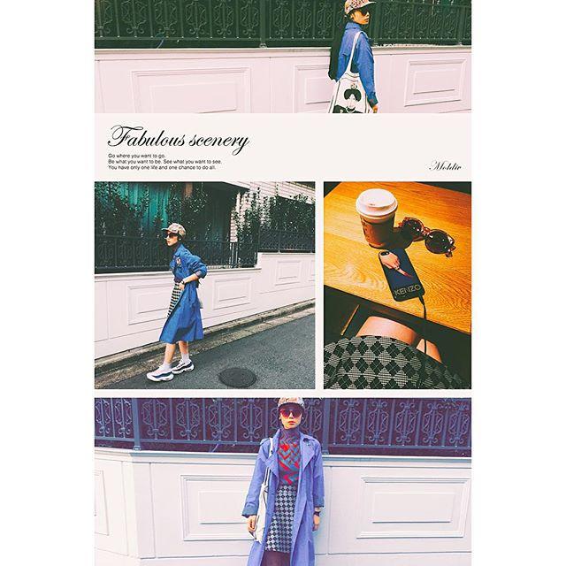 WEAR更新したよ( ´ ▽ ` )ノ♡#fashion#IZUMIsfashion#coordinate#ootd#outfit#CA4LA#cap#tabasa#nike#mademoiselleTARA