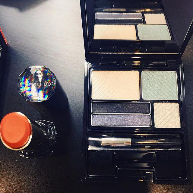 私はこのコフレをチョイスパーティーメイクをしてもらったよ♡♡♡ #coffretdor_glam#キセキノイチマイ#コフレドールアンドラブ#makeup#コフレ