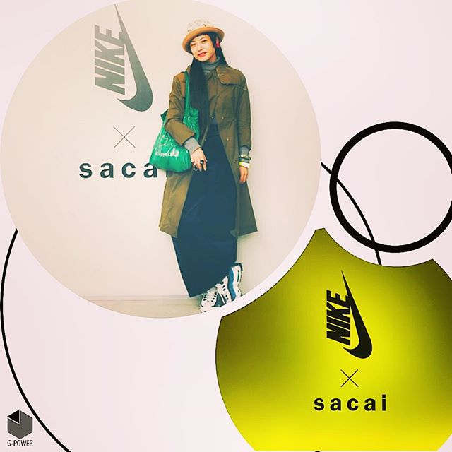 nike × sacai.️Launch party. #nike#sacai#party#ootd#outfit #sneakers