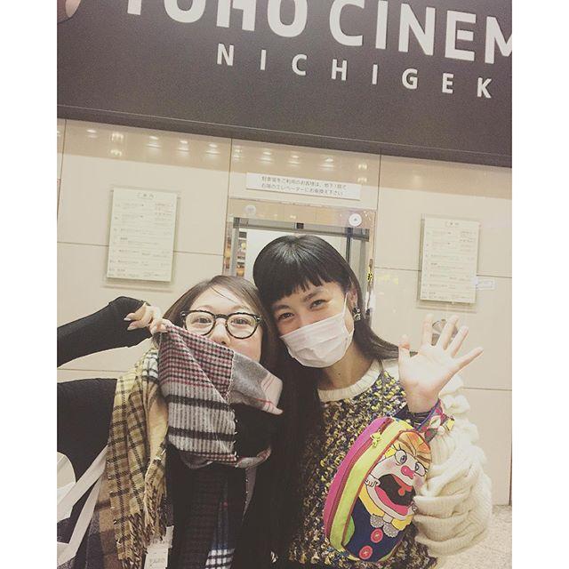 東京フィルメックスにて、@satokomuroga に遭遇嬉しすぎた(≧∇≦)...#東京フィルメックス#有楽町#映画#tohoシネマズ #園子温#ひそひそ星