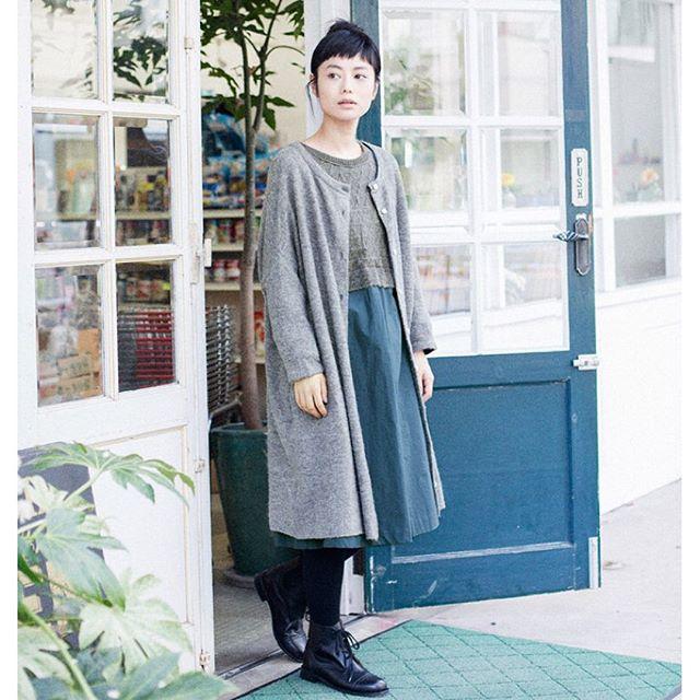 いいお天気だ〜︎️♡...#ナチュラル#ナチュラン#リンネル#fashion#fw#coordinate#IZUMI