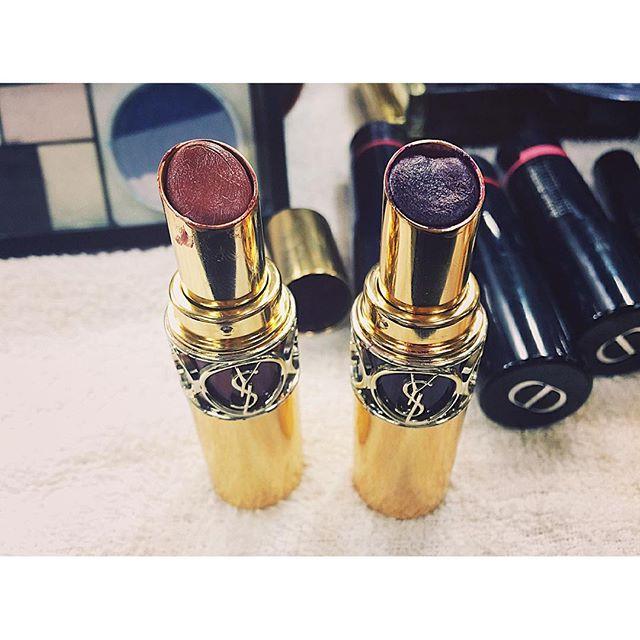 可愛かった。... #lip#ysl#make#shoot