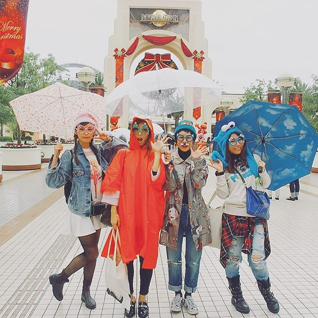 みんなGETしてLet's go〜️...#USJ#大阪#fashion#models#happy