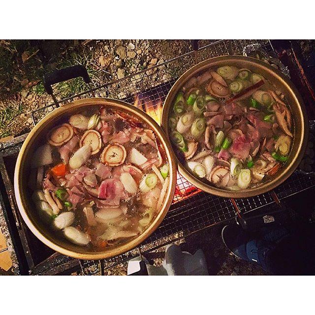 自然の中で、みんなで料理!最高だね...#ellegirlcamp#アクアヴィレッジ#伊豆#料理