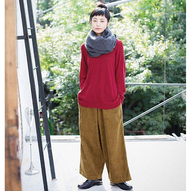 今日はリンネル3月号の撮影リンネル通販のナチュランの写真が上がってきました〜!ゆるっと。...#リンネル#ナチュラン#ナチュラル#fashion #coordinate