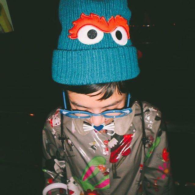 思い切り楽しむために、帽子とめがねをGET... #USJ#大阪#fashion#happy#alberobello