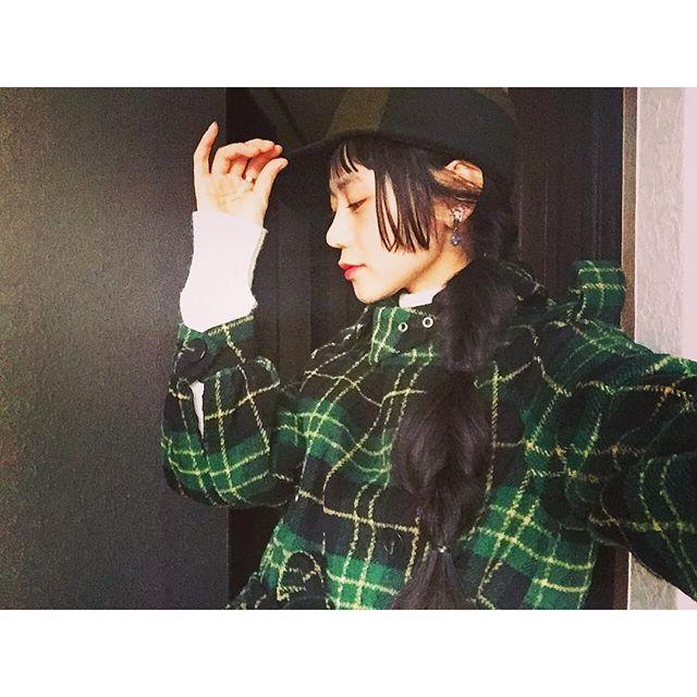 クルリンパ...#IZUMIsfashion #fashion#ootd#outfit #cap#hair#hairarrange #stylenanda