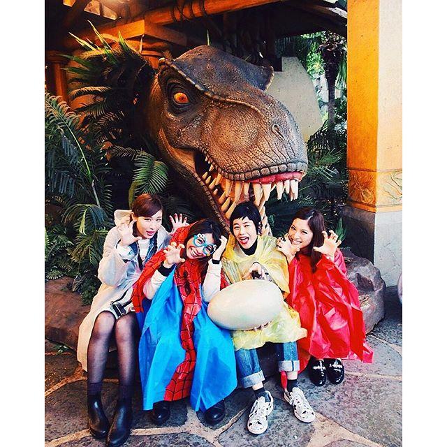🐉🐉🐉🐉🐉️...#USJ#大阪#ジュラシックパーク #happy