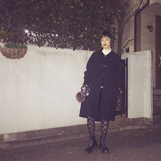 blackコーデ◉♩△...#fashion#black#coordinate #ootd#outfit #drmartens