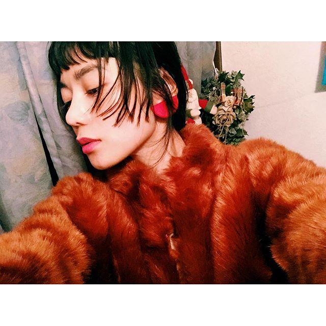 お気に入りFake fur jucket....#IZUMIsfashion #fashion#ZARA#fur#hair#make#winter#fakefurjacket