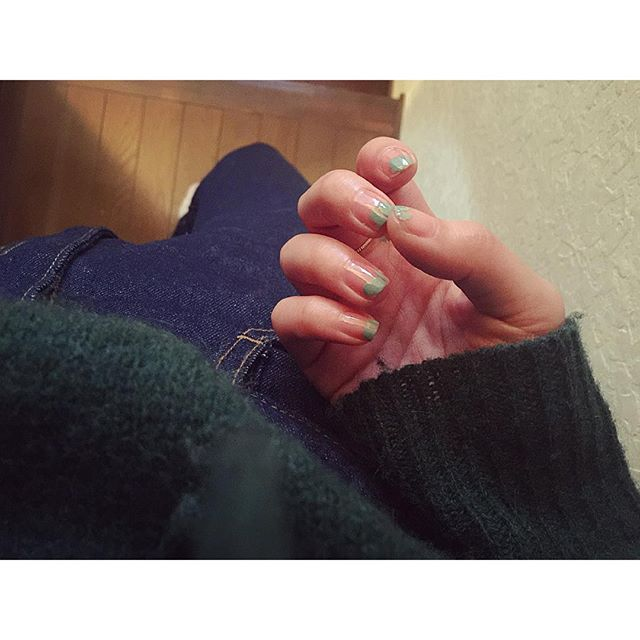 Nail.♡...#nail#self#fashion#denim