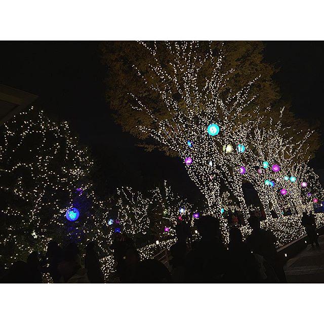 街が綺麗だ!今年もX'masがやってくる〜*....#xmas#japan#tokyo#shinjuku