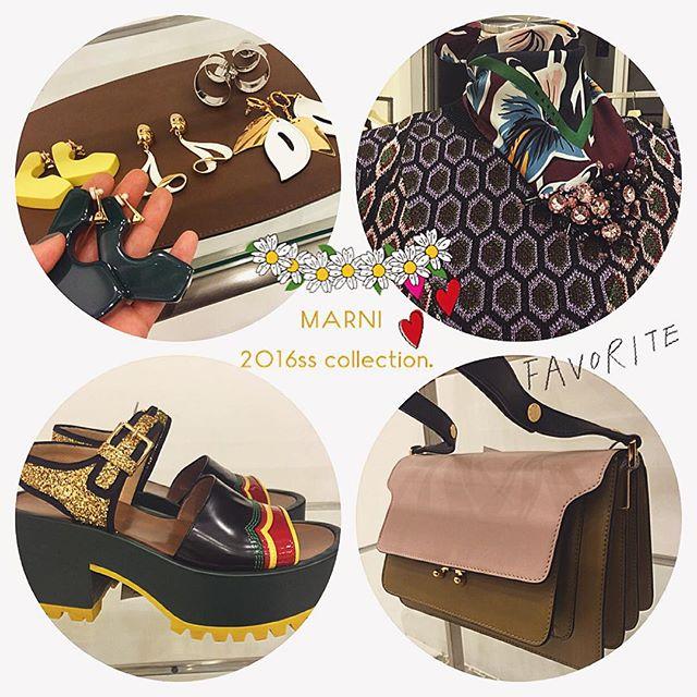 @marni 2016ss collection....#MARNI#2016ss#fashion#faivorite #bag#shoes#accessories