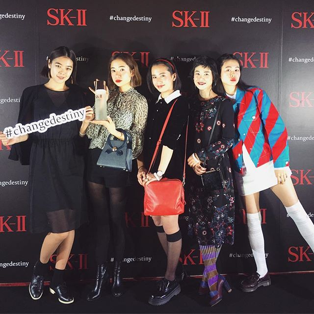 素敵すぎるみんなと!♡#changedestiny#skii #sk2