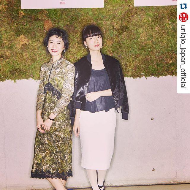 Thank you.#Repost @uniqlo_japan_official with @repostapp.・・・カリーヌ・ロワトフェルドの2016春夏コレクションが本日1/22(金)販売開始!発売を記念してローンチパーティーを開催。沢山のゲストインフルエンサーの皆様をお迎えして、トークショーと試着会を実施しました。#carineroitfeldxuniqlo #carineroitfeld #uniqlo #fashion #newcollection #collaboration #カリーヌ #ユニクロ #ファッション
