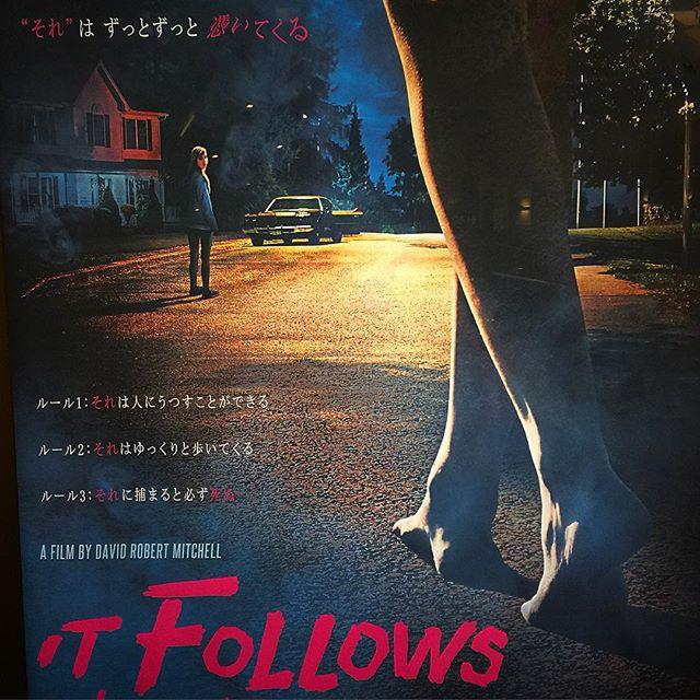 怖すぎた。。...#movie#new#itfollows