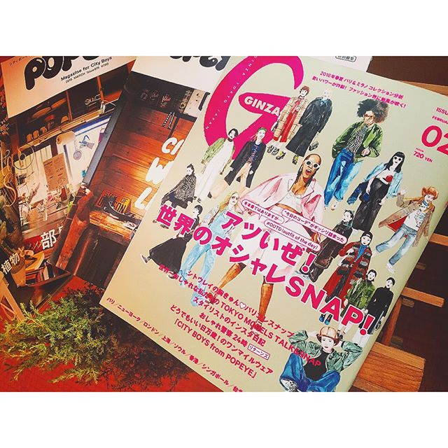 本日発売!@ginzamagazine 私服snap.♡大好きな@door_daikanyama とalberobelloのshopでも撮影させてもらいました...#ginzamagazine #私服#snap#fashion#IZUMI