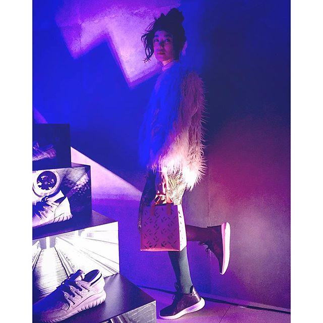 私も@adidas TUBULARのBLACKを履いて行ったよ( ´ ▽ ` )ノ♡...#adidasoriginals #TUBULAR#IZUMIsfashion#ootd#sneakers