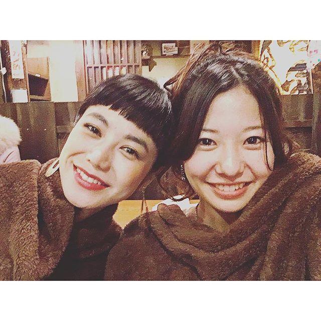 今回の現場は、知ってるメンバーがたくさん♡あー嬉しいなぁwith 郁ちゃん@arale_official ♡...#movie#shoot #happy#hamamatsu
