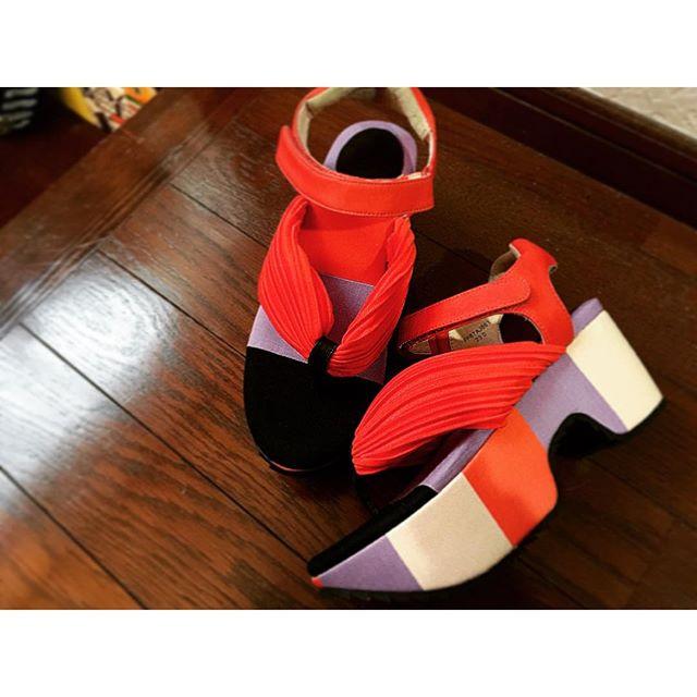 New in.♡一目惚れ.早く履きたい!♡...#new#sandal#japan#fashion