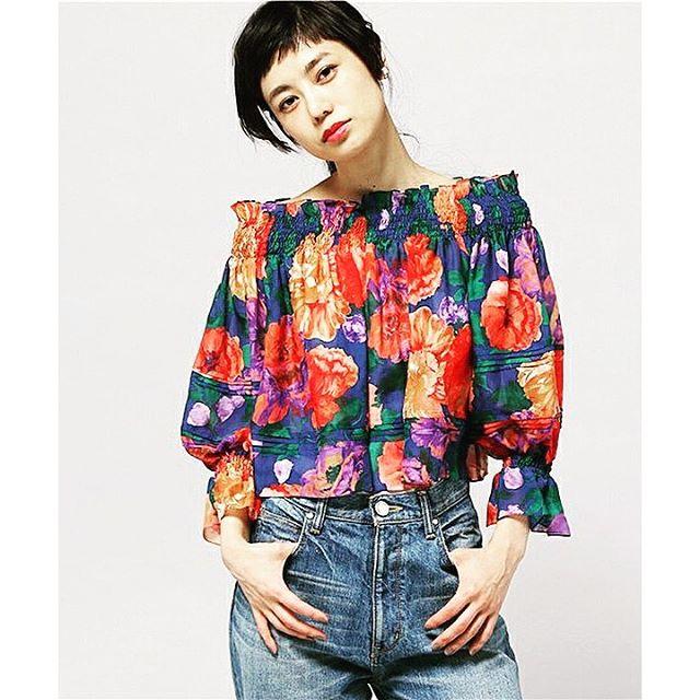 早く春服着たい!@aula_isetan ...#spring#fashion#aulaaila #denim#IZUMI