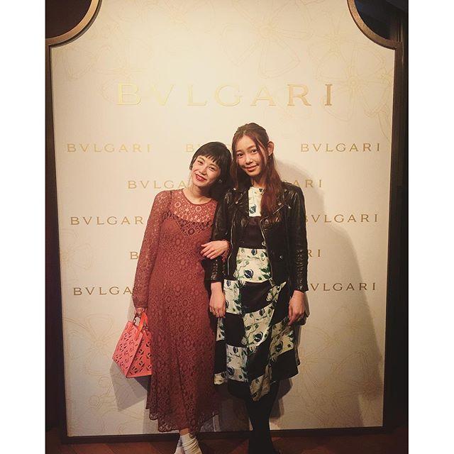 ゆりえ氏@yurie__a に会える率、出逢ってから高くて嬉しいー...#BulgariBridal #bvlgari #wedding #party