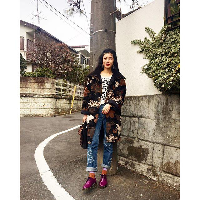 先日のしふく!大分昔に買った@martenshop を久々に履いたな〜️...#IZUMIsfashion #fashion #ootd#outfit #denim#drmartens