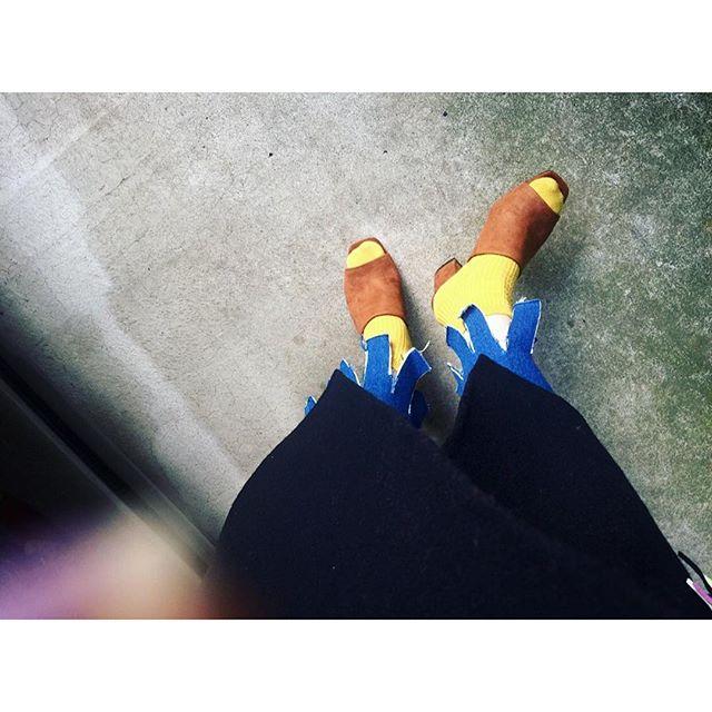 一昨日からサンダルを.♡...#IZUMIsfashion #outfit #ootd #zara#sandal#denim #murua