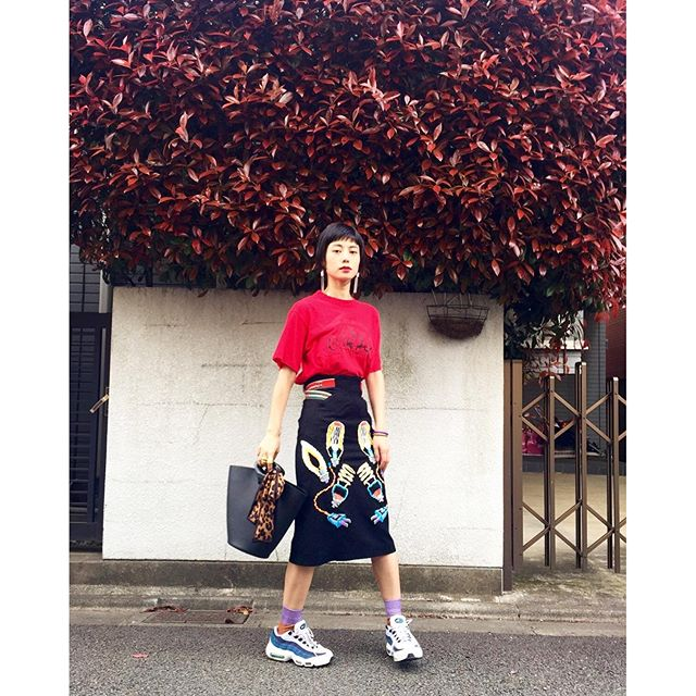 @wear_official 更新♡...#IZUMIsfashion #ootd #outfitoftheday #spring #theaterproducts #WEAR #nike #lv