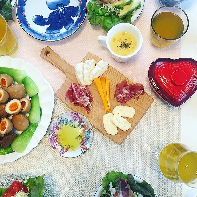 .姉夫婦の新居でHome party.、、、、、、、、、、、、#homeparty #cooking #homecooking