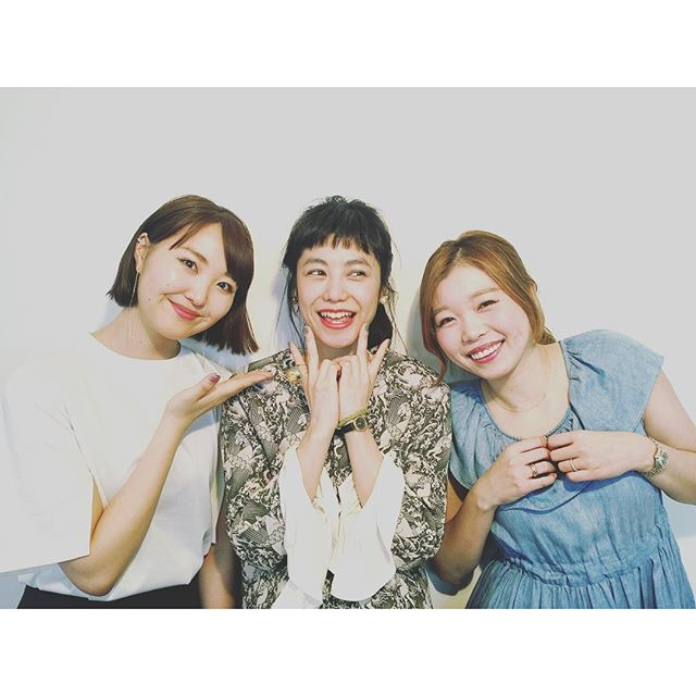 ♡@heather_love_official @xxxlisababy ちゃん & 坂田さん.♡またご一緒出来て、とっても嬉しかった!、、、、、、、、、、、、、、#hether #shooting#spring #fashion #fun