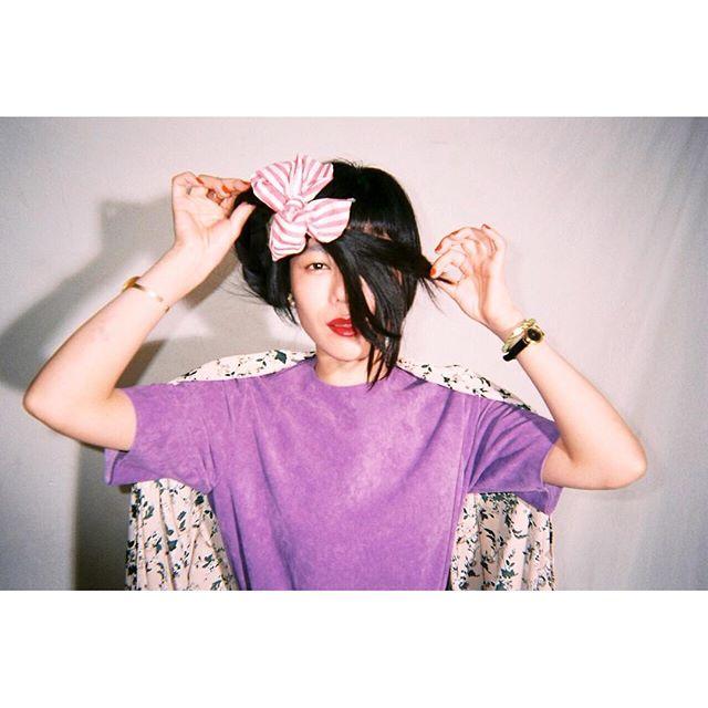 髪遊び。photo by @mori_camera .