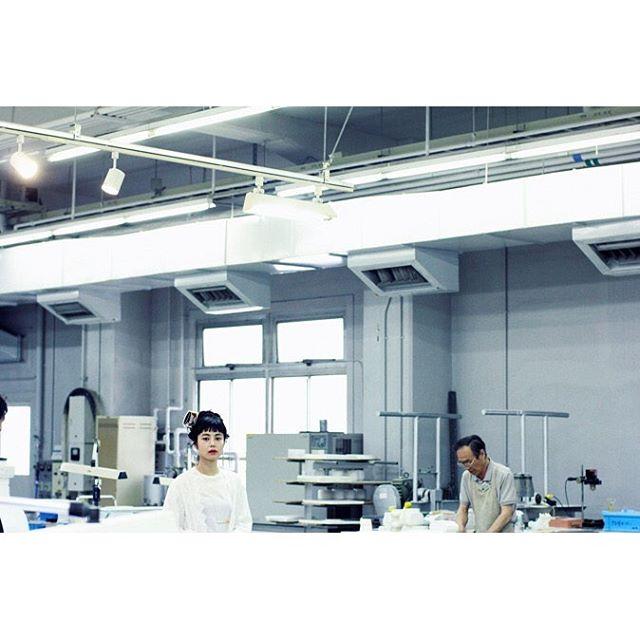 工場見学のような。、、、@theatre_products #シアタープロダクツの名古屋散歩 #ノリタケの森