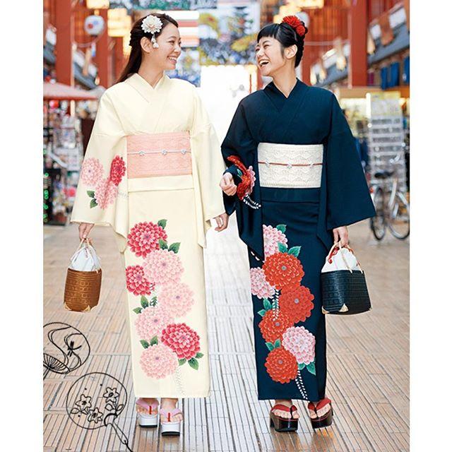 夏。水着もいいけど、私は浴衣がすき。だって、浴衣は日本の伝統文化。浴衣が似合う大人の女性になりたい。@mimatsu.shara.kimono 、、、#japan #summer #浴衣