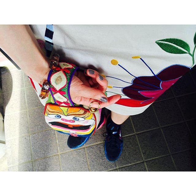 .、、、#IZUMIsfashion #ootd #outfit #bag#ALBEROBELLO