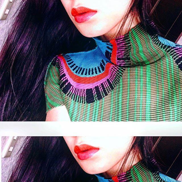 先日のLip make.♡上・Orange下・Pink、、、#IZMAKE #self #lip#IZUMIsfashion
