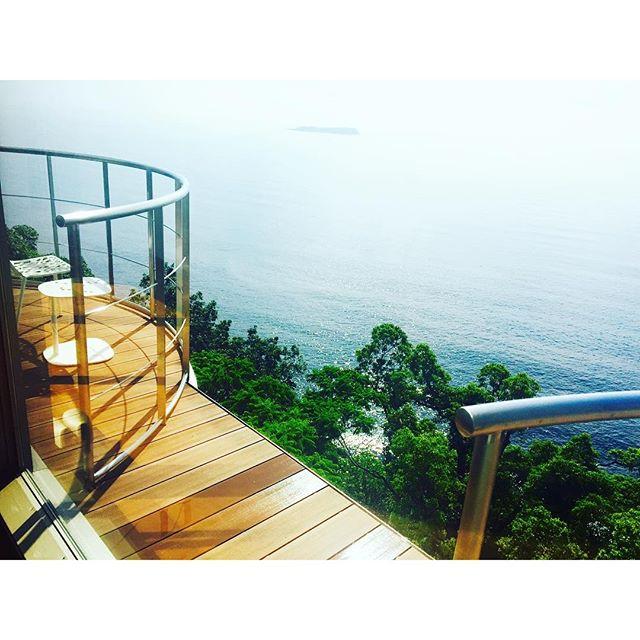 日本の海もやっぱり最高だなぁ!、、、#ホテルふたり木もれ陽 #伊東 #熱海 #japan