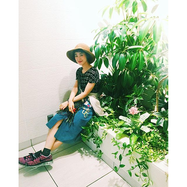 .#izumisfashion #ootd #outfit #hat#summer #WEAR更新