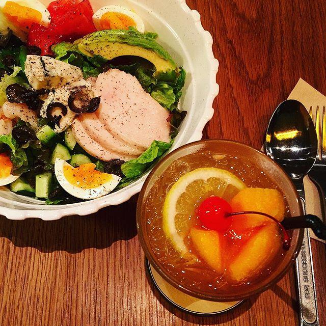 salad.♡with @yuikoyoshizaki