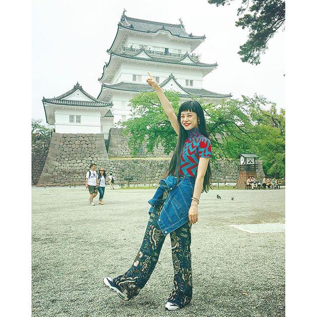 久々の小田原城!!!、、、#小田原城 #japan#IZUMIsfashion