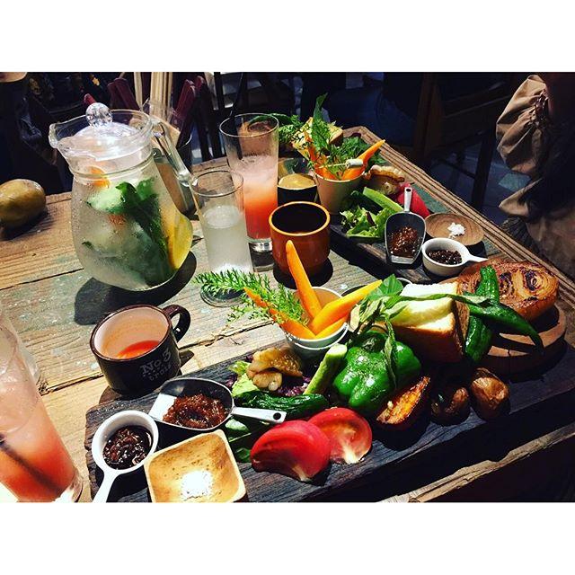 身体にやさしい無農薬#vegetables #lunch