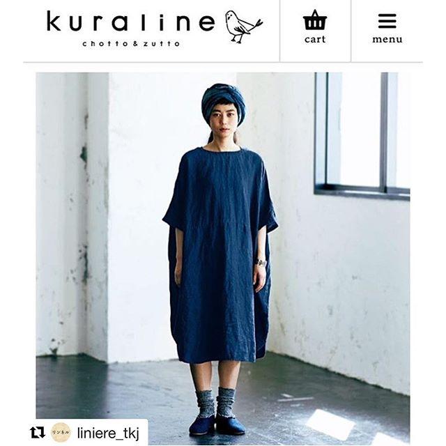 .リンネル本日発売#Repost @liniere_tkj with @repostapp・・・本日発売のリンネルでご紹介している、ネストローブのインディゴリネン2wayワンピース。本藍手染めの深みのある美しい藍色は、蓼を発酵させた天然染料を使って熟練の職人が染め上げたもの。後ろがVネックになっていて、前後ろを逆にしても楽しめます。リンネルの通販サイト『クラリネ』でも本日から発売しています!#リンネル #本藍 #リネン #リネンワンピース#nestrobe #ネストローブ @izuuumixxx